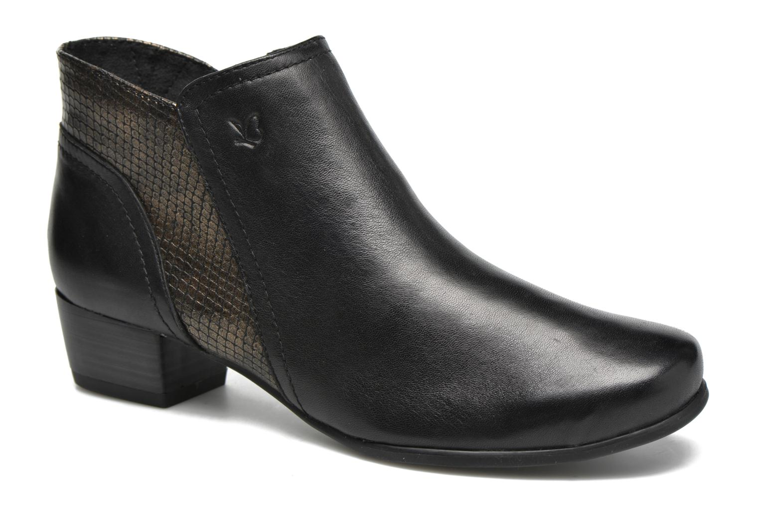 Ankle boots Caprice Bhuma Black detailed view/ Pair view