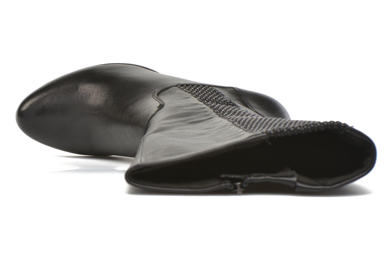 Botas Caprice Britt Boot Negro vista lateral izquierda