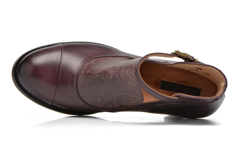 Bottines et boots Neosens Baladí S269 Bordeaux vue gauche