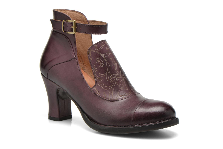 Bottines et boots Neosens Baladí S269 Bordeaux vue détail/paire