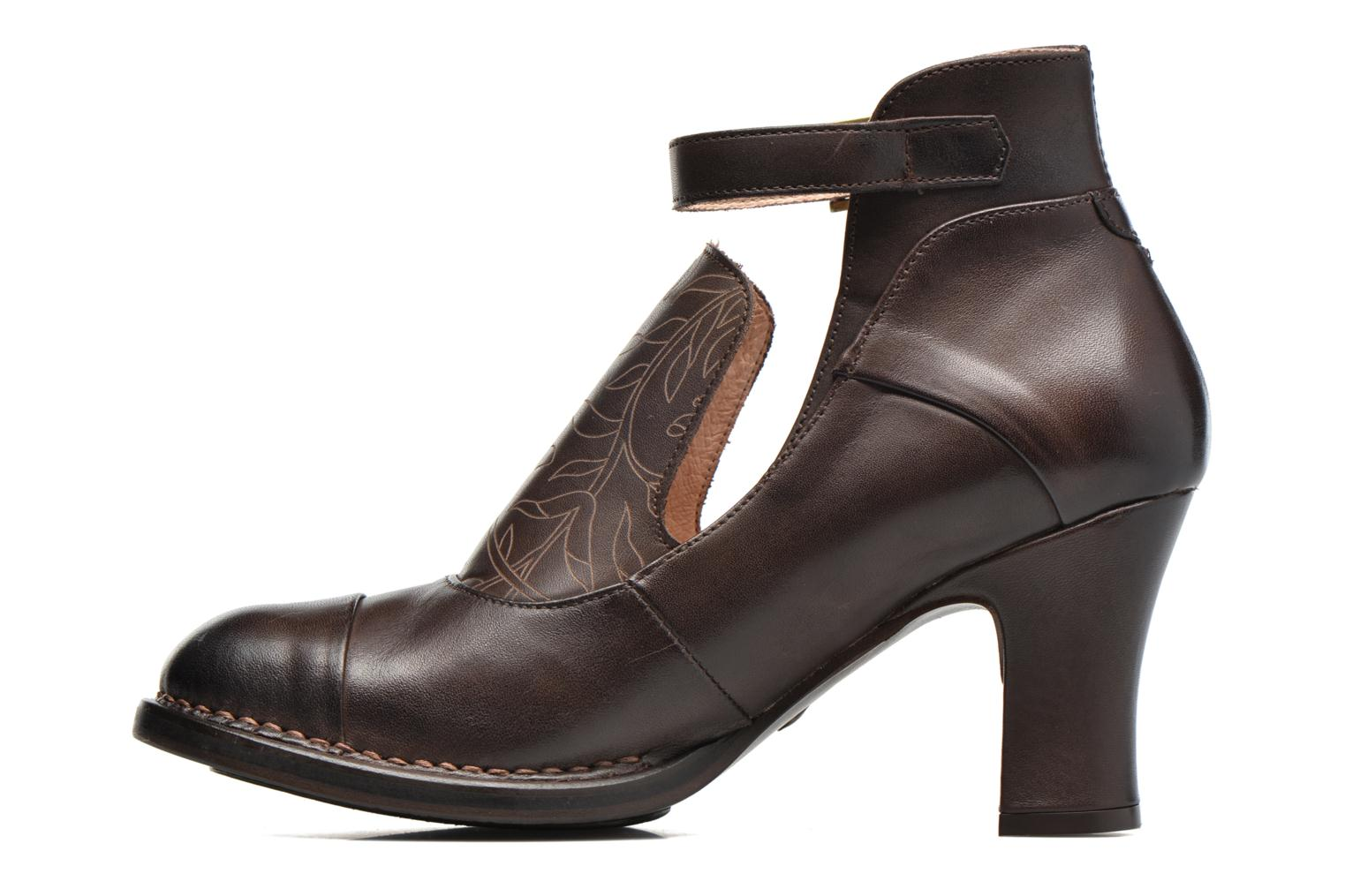 Ankle boots Neosens Baladí S269 Brown front view