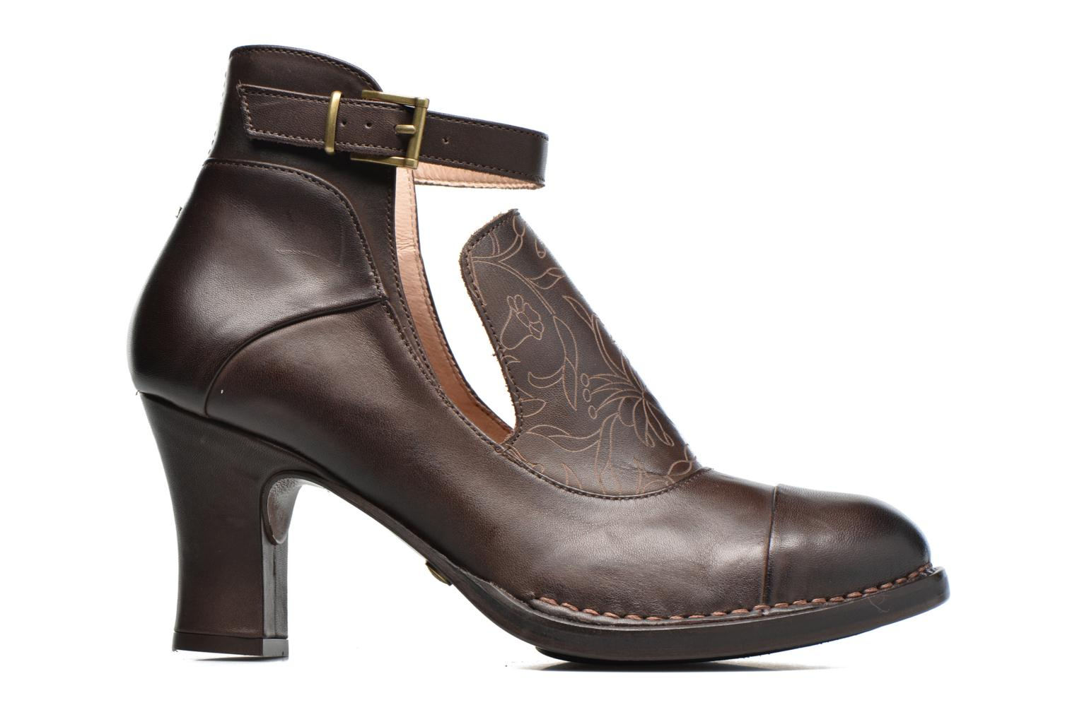 Ankle boots Neosens Baladí S269 Brown back view