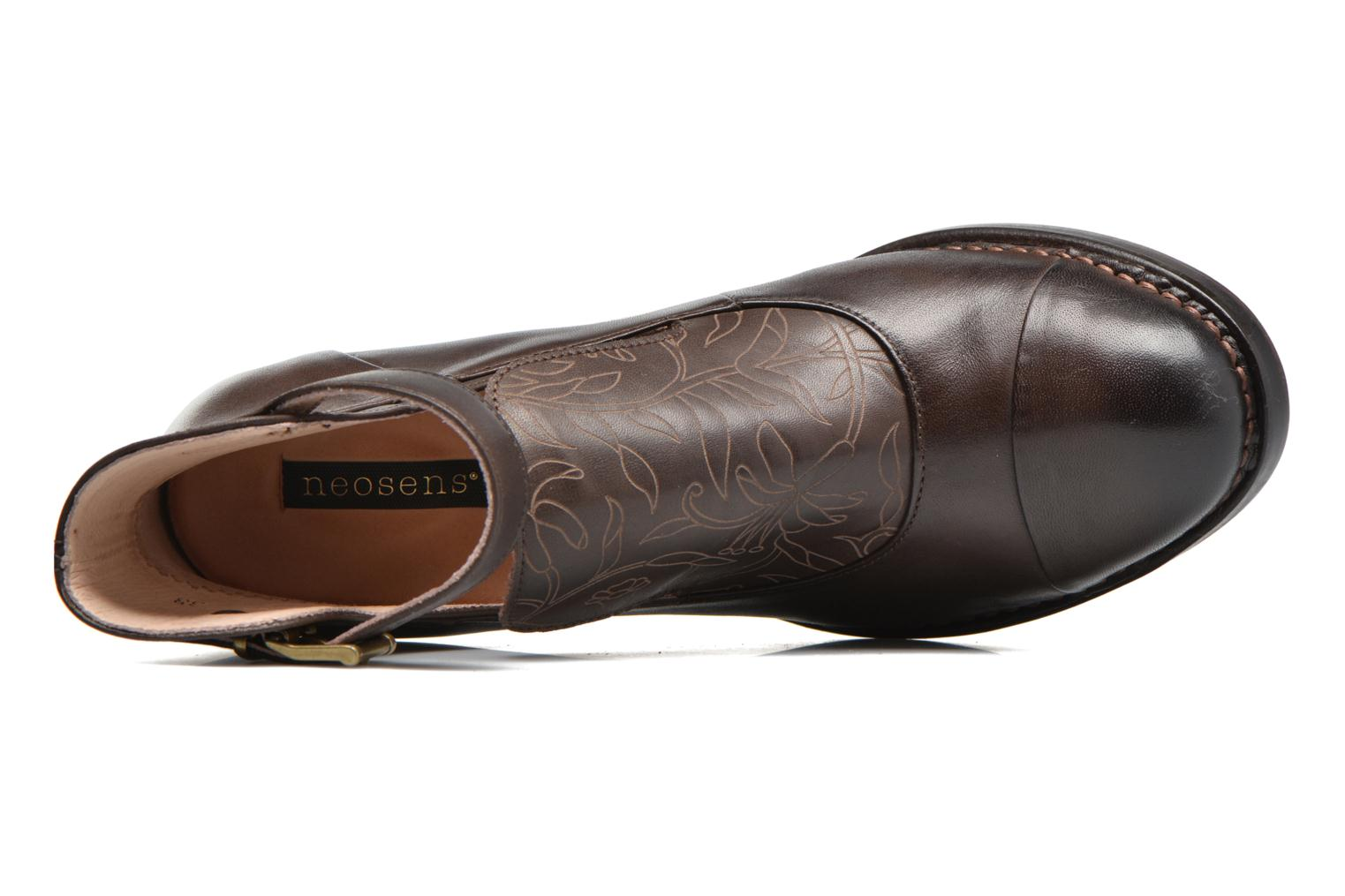 Ankle boots Neosens Baladí S269 Brown view from the left