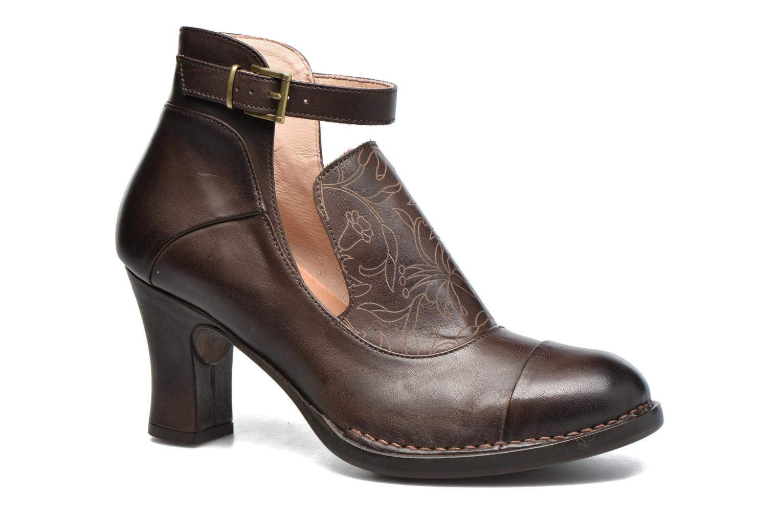 Ankle boots Neosens Baladí S269 Brown detailed view/ Pair view
