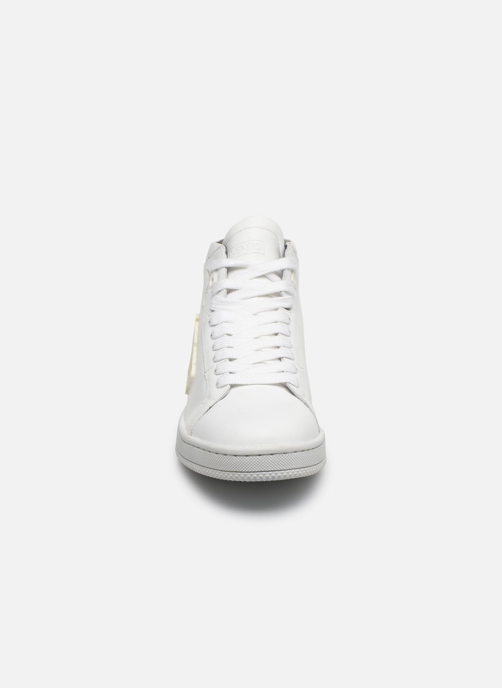 Sneaker Kenzo Tearx weiß schuhe getragen