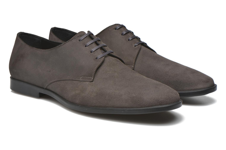 Zapatos con cordones Kenzo Justicier Gris vista 3/4