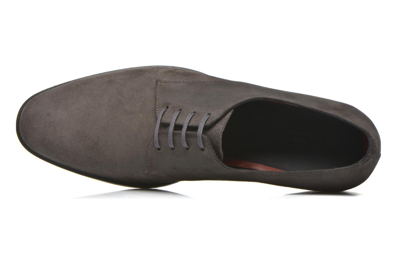 Zapatos con cordones Kenzo Justicier Gris vista lateral izquierda