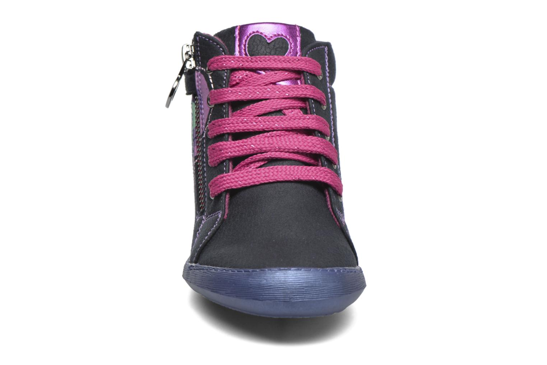 Baskets Agatha Ruiz de la Prada Clever Mid 1 Bleu vue portées chaussures