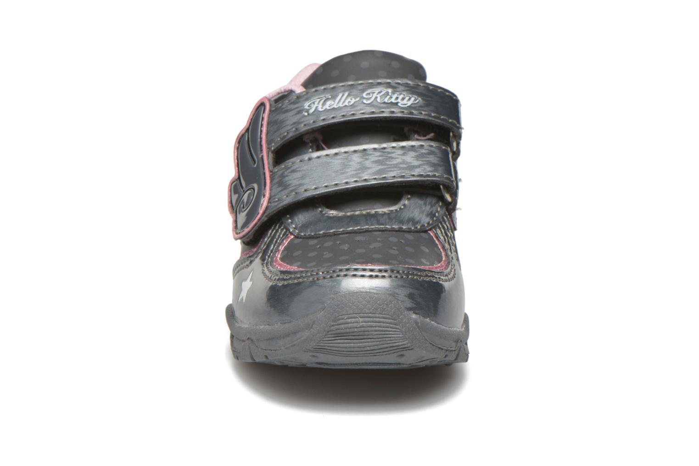 Baskets Hello Kitty Hk Fanely Light Gris vue portées chaussures