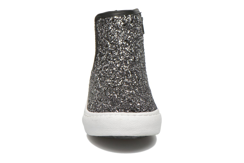 Sneaker Gioseppo Burning silber schuhe getragen