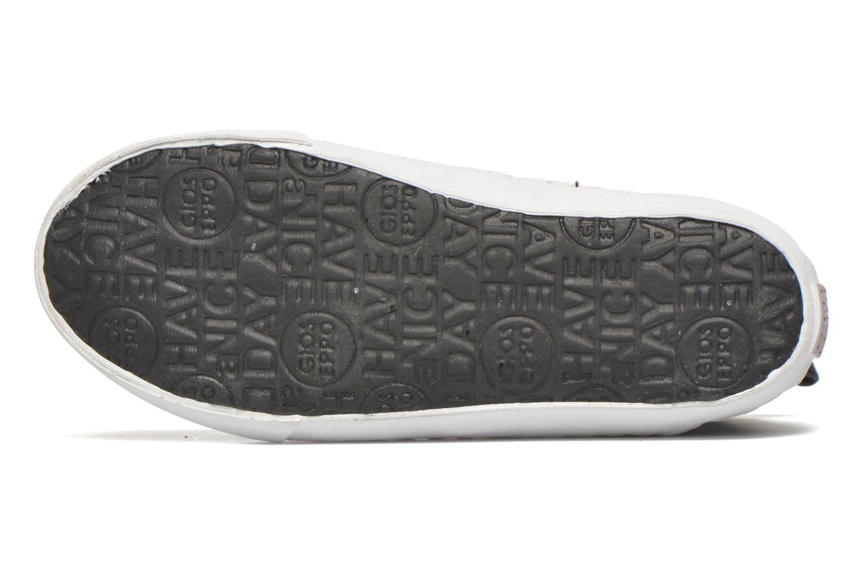 Sneaker Gioseppo Burning silber ansicht von oben