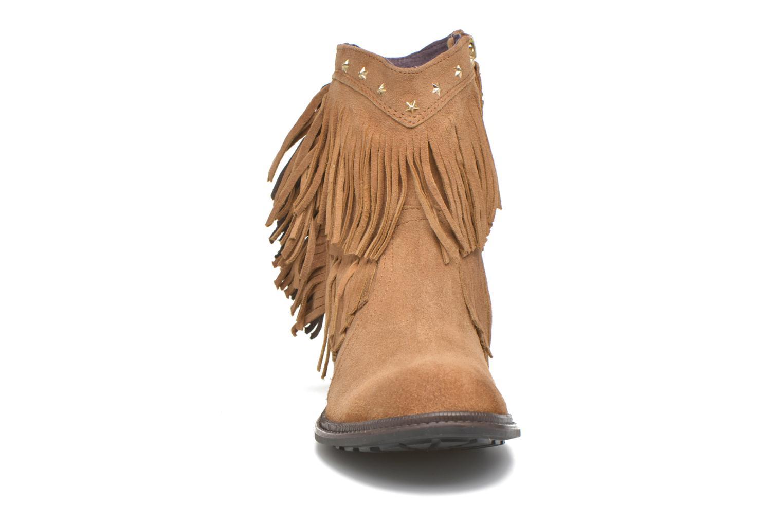 Bottines et boots Gioseppo Farwest Beige vue portées chaussures