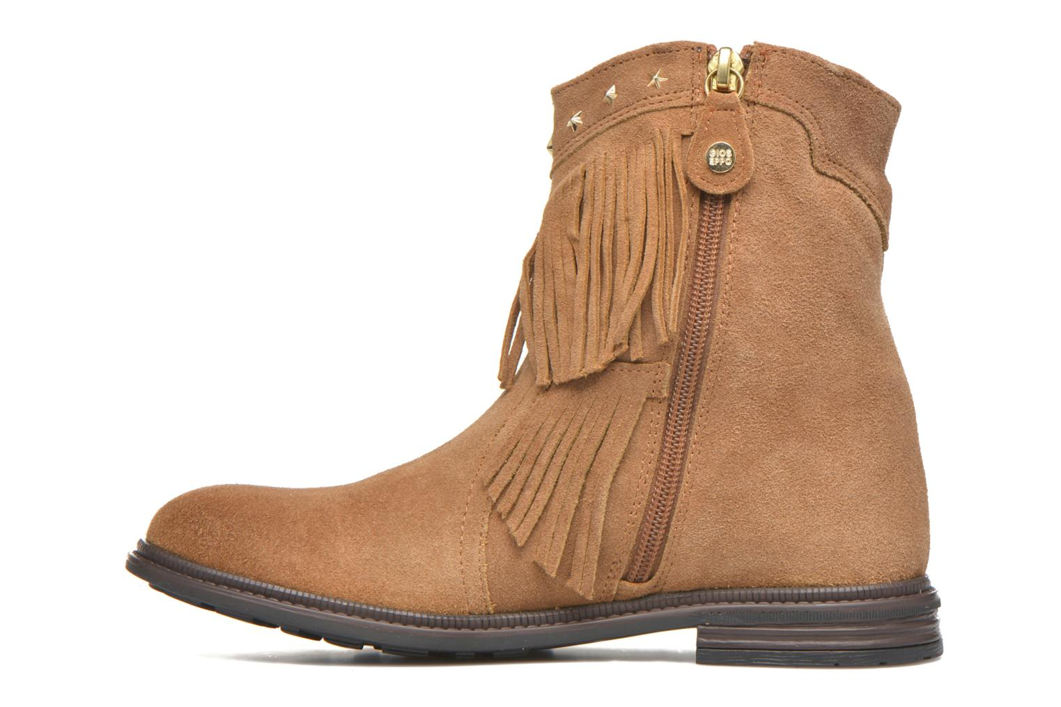 Ankle boots Gioseppo Farwest Beige front view