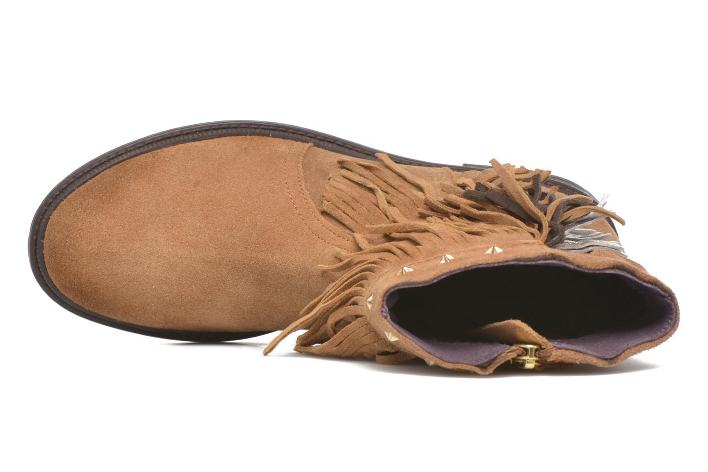 Bottines et boots Gioseppo Farwest Beige vue gauche