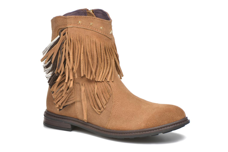 Bottines et boots Gioseppo Farwest Beige vue détail/paire
