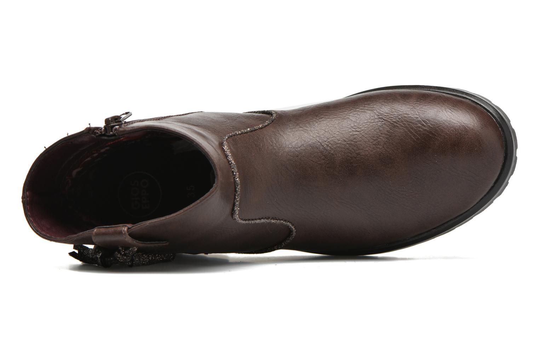 Bottines et boots Gioseppo Futura Marron vue gauche
