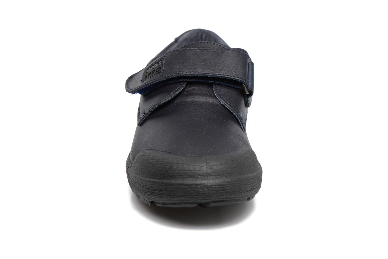 Chaussures à scratch Gioseppo Galilei Bleu vue portées chaussures