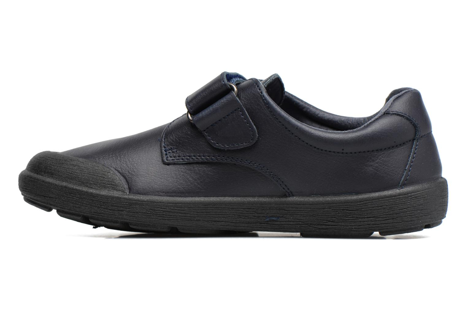 Velcro shoes Gioseppo Galilei Blue front view