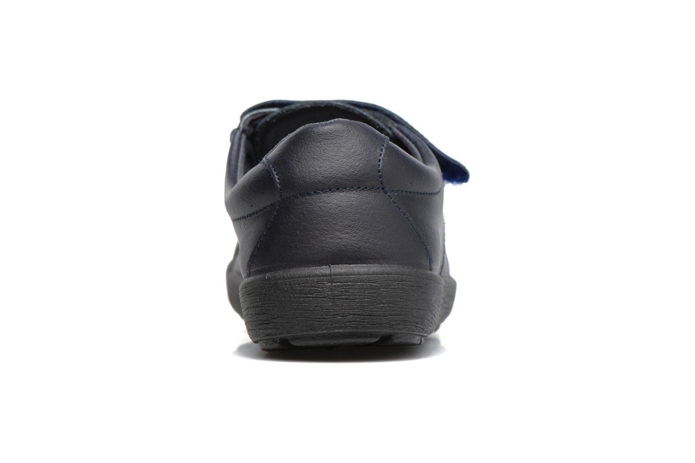 Chaussures à scratch Gioseppo Galilei Bleu vue droite