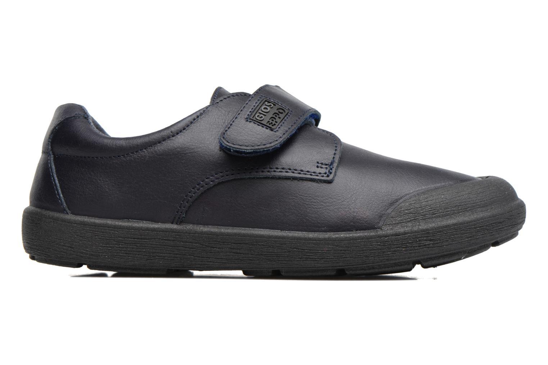 Chaussures à scratch Gioseppo Galilei Bleu vue derrière