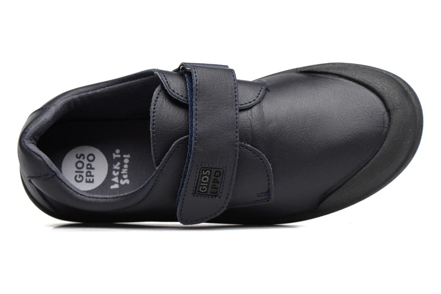 Velcro shoes Gioseppo Galilei Blue view from the left