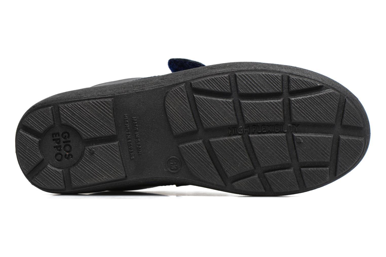 Chaussures à scratch Gioseppo Galilei Bleu vue haut