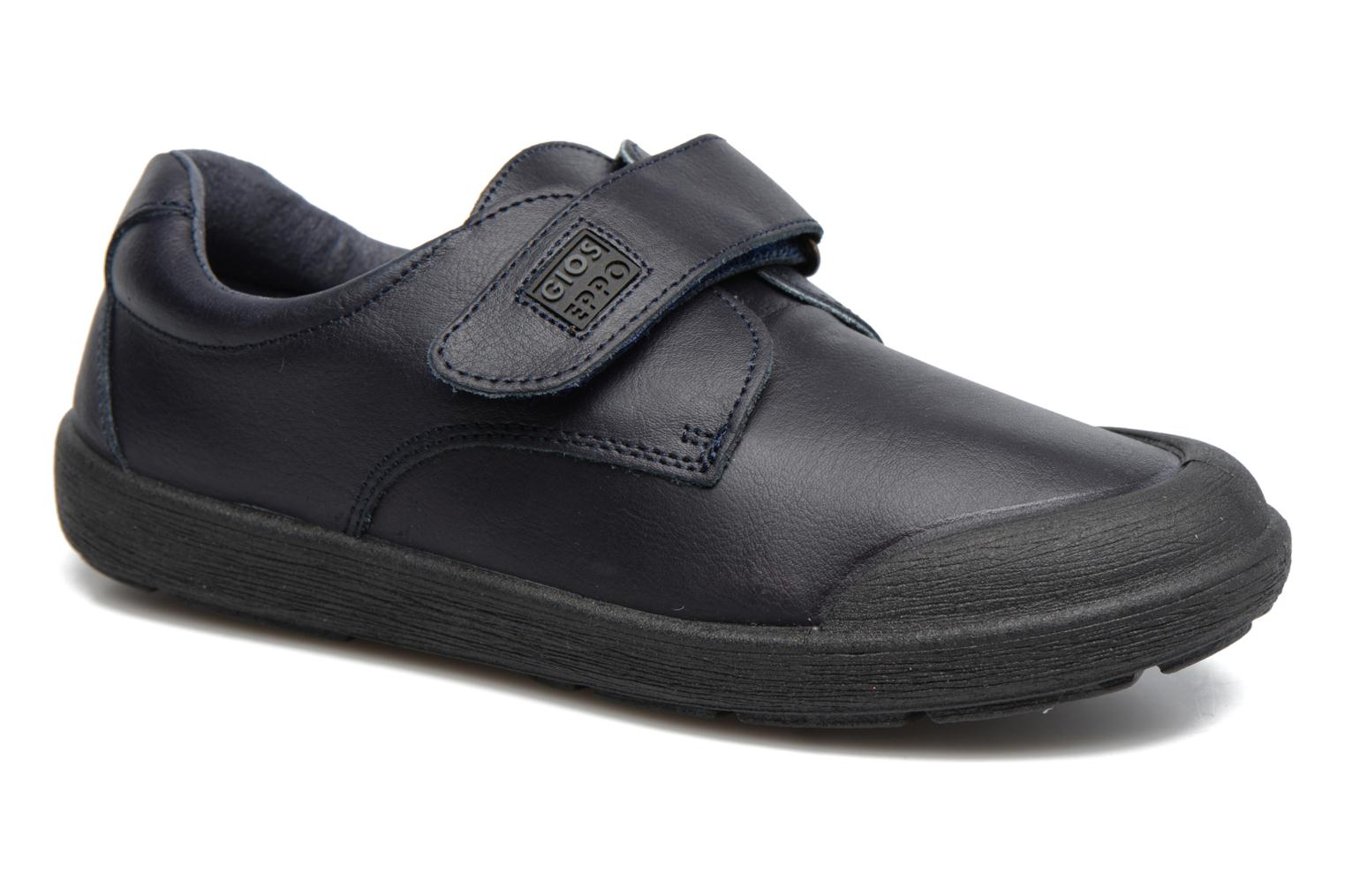 Velcro shoes Gioseppo Galilei Blue detailed view/ Pair view