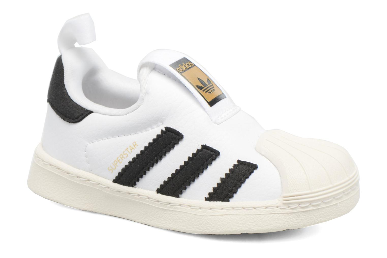 Baskets Adidas Originals Superstar 360 I Blanc vue détail/paire