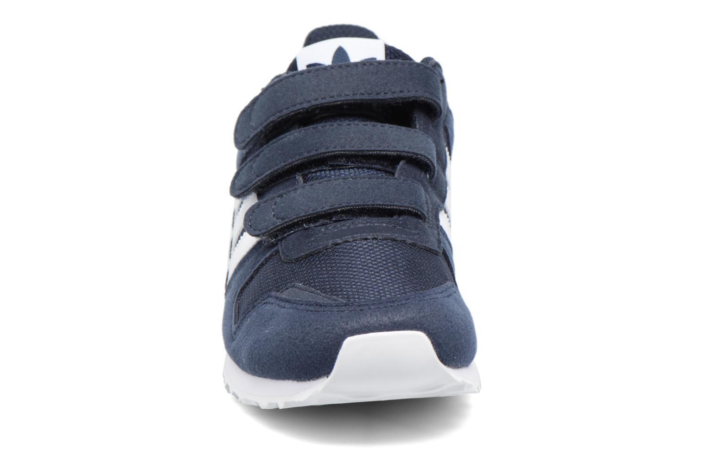 Sneaker Adidas Originals Zx 700 Cf C blau schuhe getragen