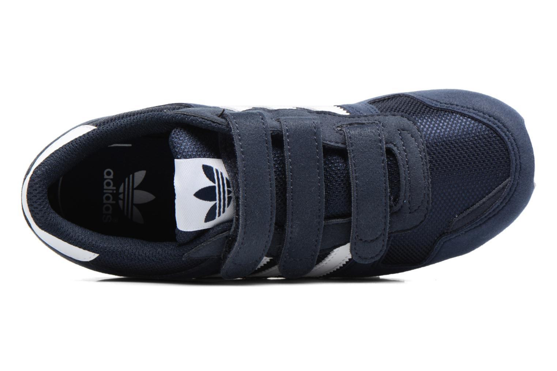 Sneaker Adidas Originals Zx 700 Cf C blau ansicht von links