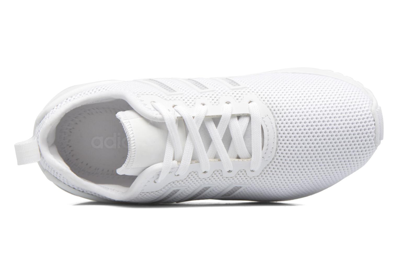 Baskets Adidas Originals Zx Flux Adv C Blanc vue gauche