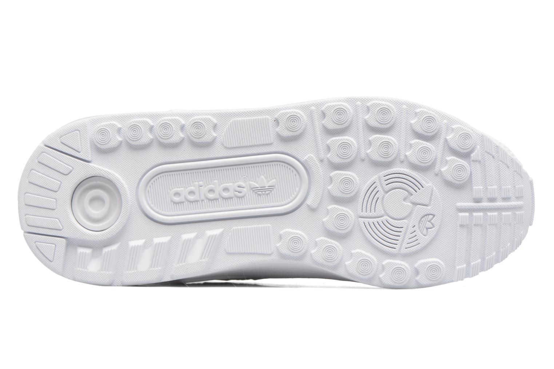 Baskets Adidas Originals Zx Flux Adv C Blanc vue haut