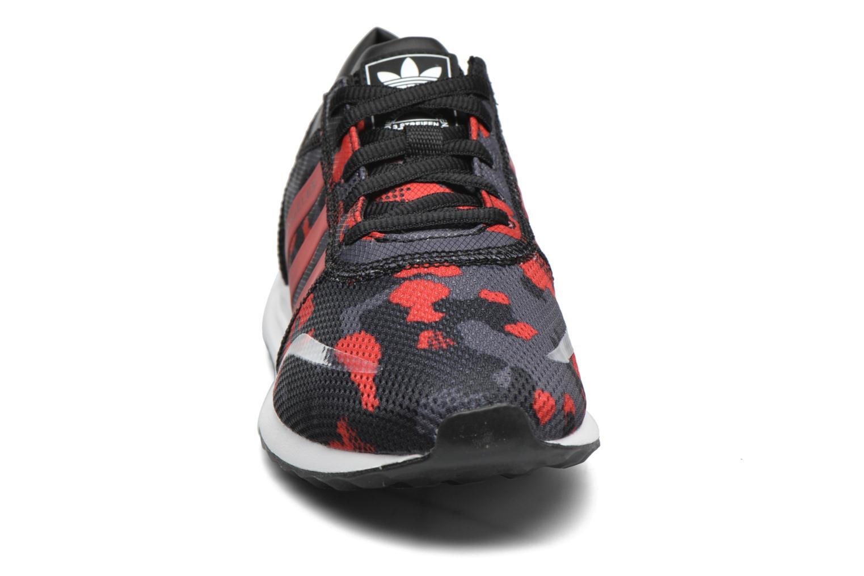 Sneaker Adidas Originals Los Angeles J schwarz schuhe getragen
