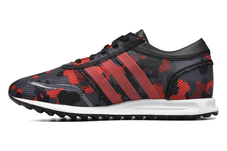 Sneaker Adidas Originals Los Angeles J schwarz ansicht von vorne