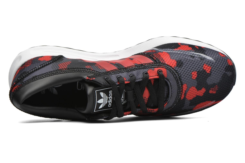 Sneaker Adidas Originals Los Angeles J schwarz ansicht von links
