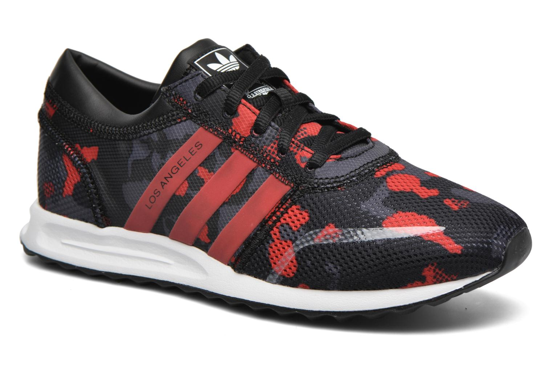 Sneaker Adidas Originals Los Angeles J schwarz detaillierte ansicht/modell