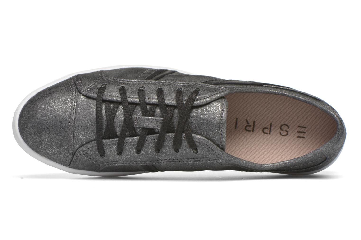 Trainers Esprit Mega Lace Up Black view from the left