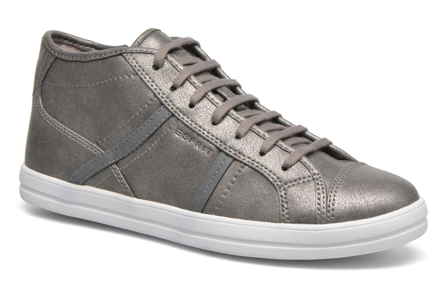 Trainers Esprit Mega Bootie Grey detailed view/ Pair view