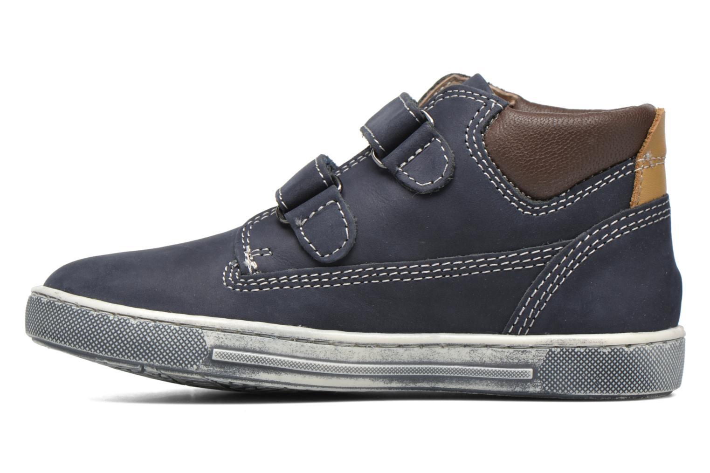 Chaussures à scratch Chicco Carino Bleu vue face