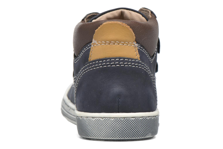 Chaussures à scratch Chicco Carino Bleu vue droite