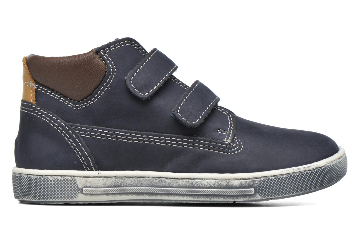Velcro shoes Chicco Carino Blue back view