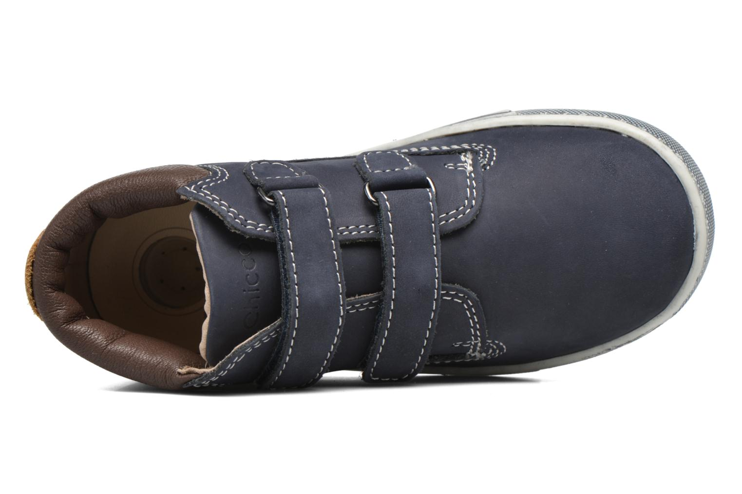 Velcro shoes Chicco Carino Blue view from the left