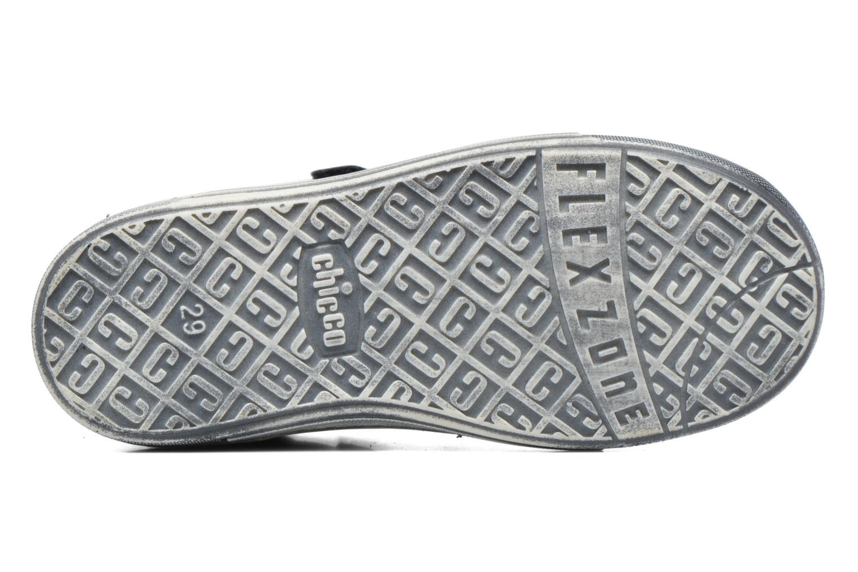 Chaussures à scratch Chicco Carino Bleu vue haut