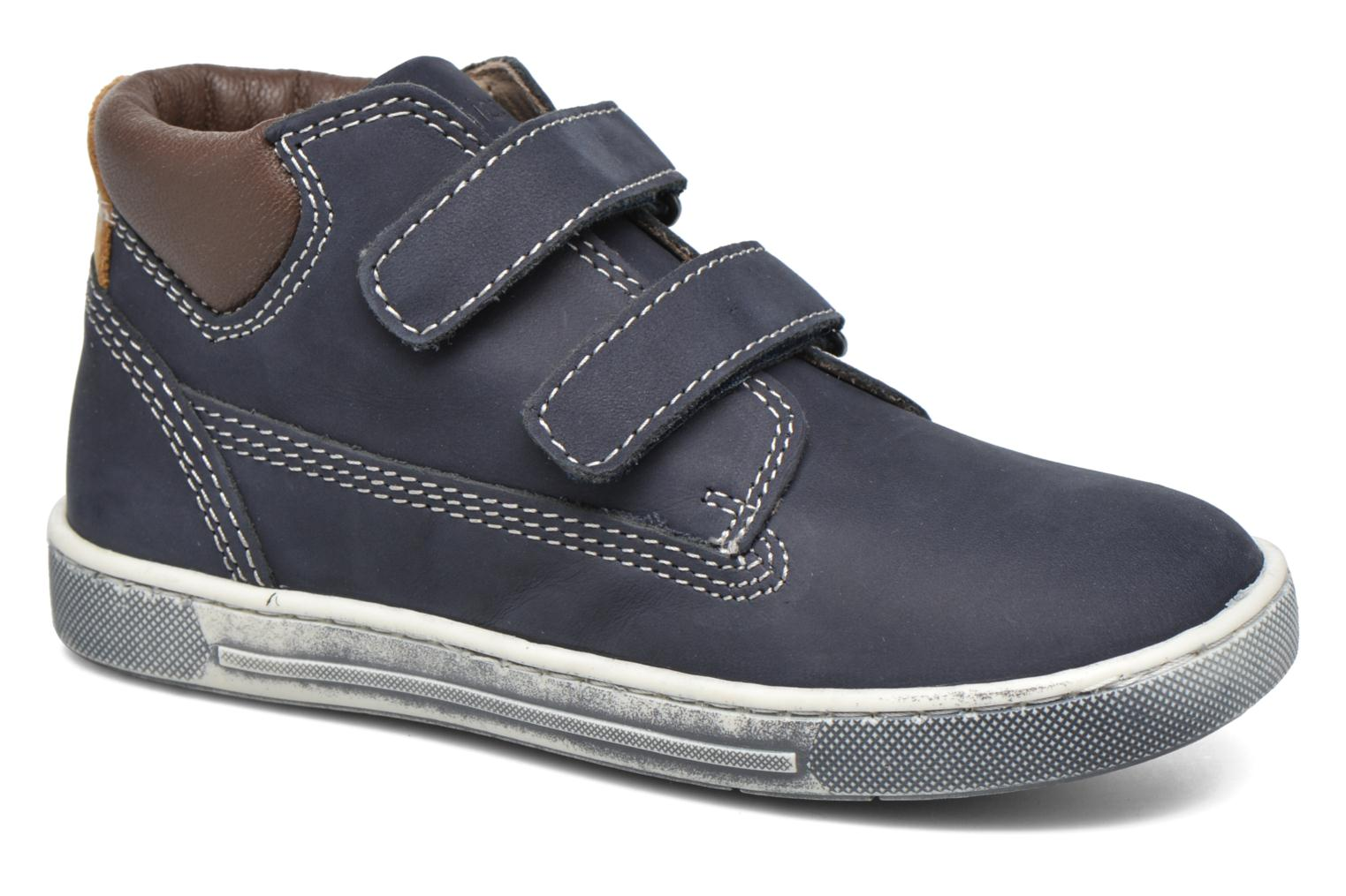 Velcro shoes Chicco Carino Blue detailed view/ Pair view