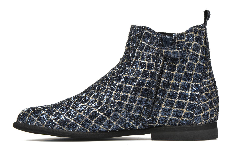 Ankle boots Manuela de Juan Constance 3 Blue front view
