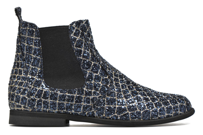 Ankle boots Manuela de Juan Constance 3 Blue back view
