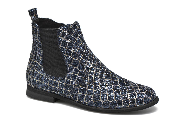 Ankle boots Manuela de Juan Constance 3 Blue detailed view/ Pair view