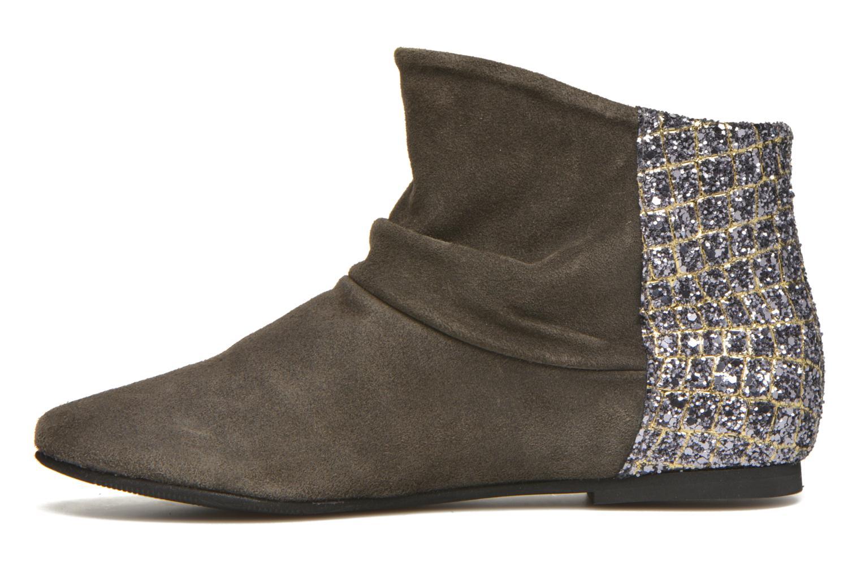Bottines et boots Manuela de Juan Nikita Gris vue face