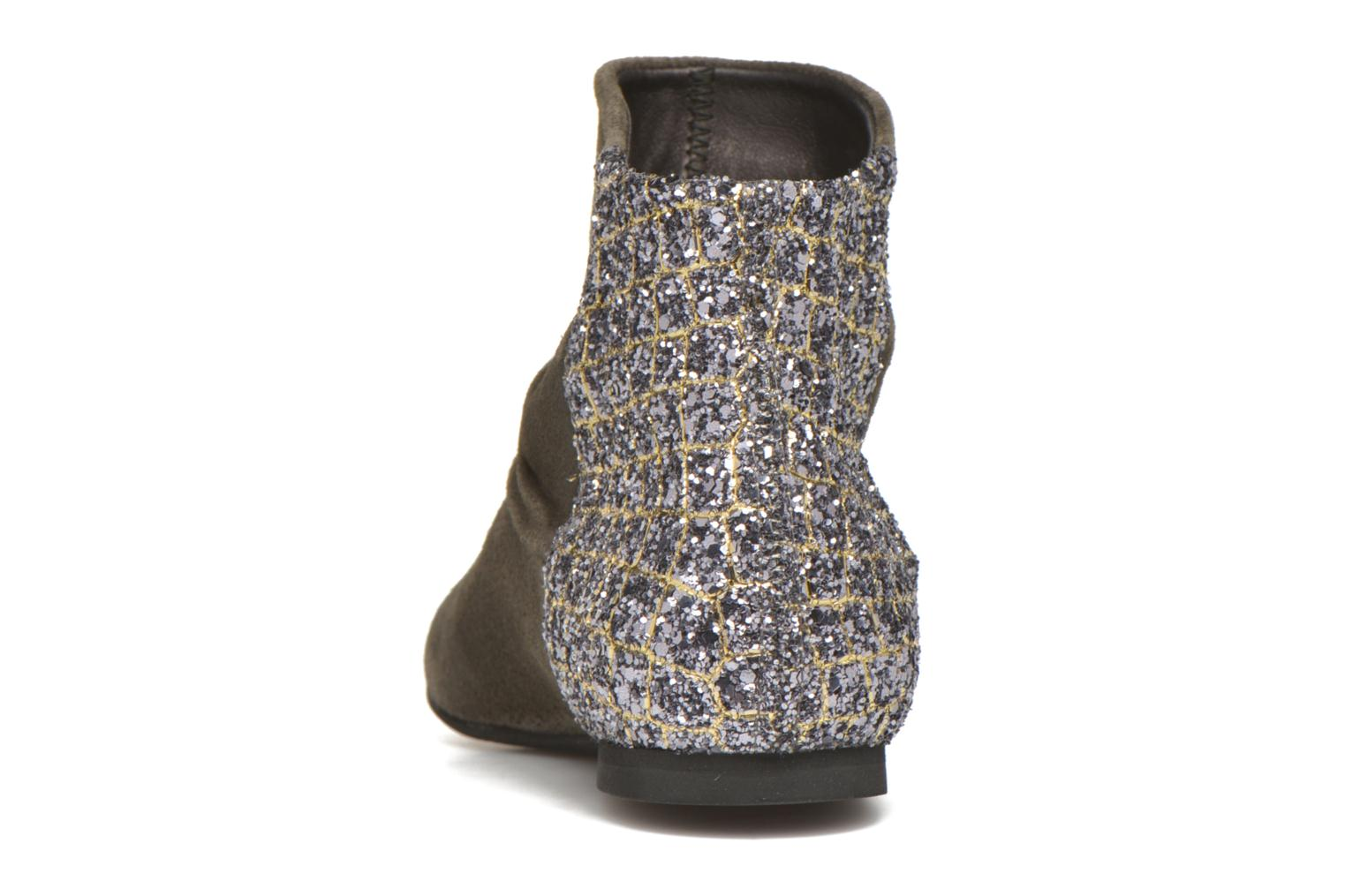 Ankle boots Manuela de Juan Nikita Grey view from the right