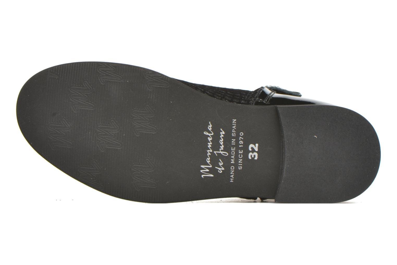 Stiefeletten & Boots Manuela de Juan Olivia schwarz ansicht von oben